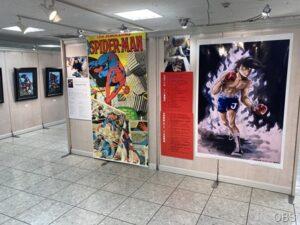 アメリカンコミック ヒーロー・アート展/画業65周年記念 ちばてつや版画展