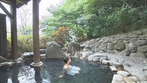 ④露天風呂