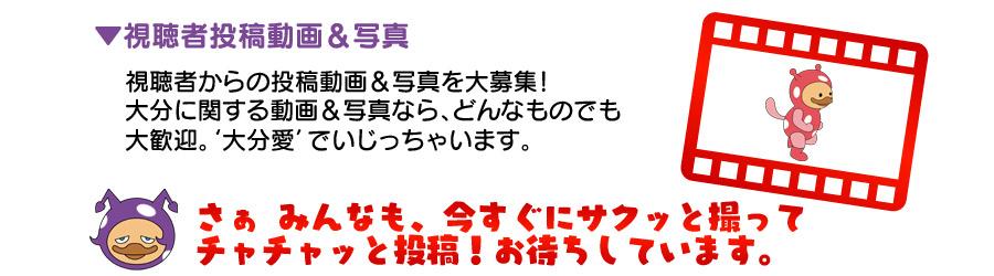 視聴者投稿動画
